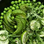 ensalada-rucula-guisantes-bio