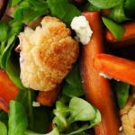 Receta Actiture Ensalada de coliflor bio, canónigos, zanahoria y queso azul