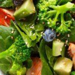 Receta Actiture Ensalada Bio Brócoli, Espinaca y salmón