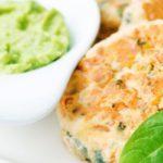 Receta Actiture Hamburguesa de salmón y espinaca bio