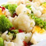 Receta Actiture Ensalada brócoli y coliflor bio con huevo duro
